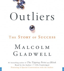 Malcolm Gladwell's work on success. Image: Hatchetbookgroups.com
