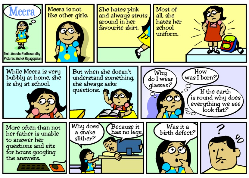 Meera (Strip # 1)