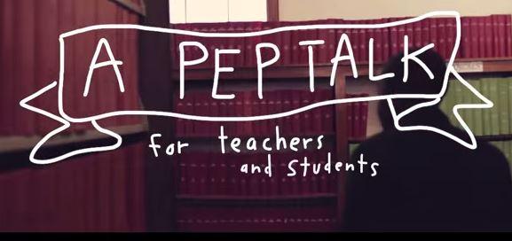 Kid president's pep talk