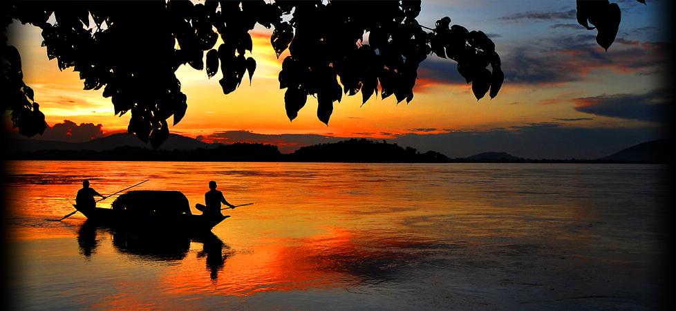 Brahmaputra-sunset
